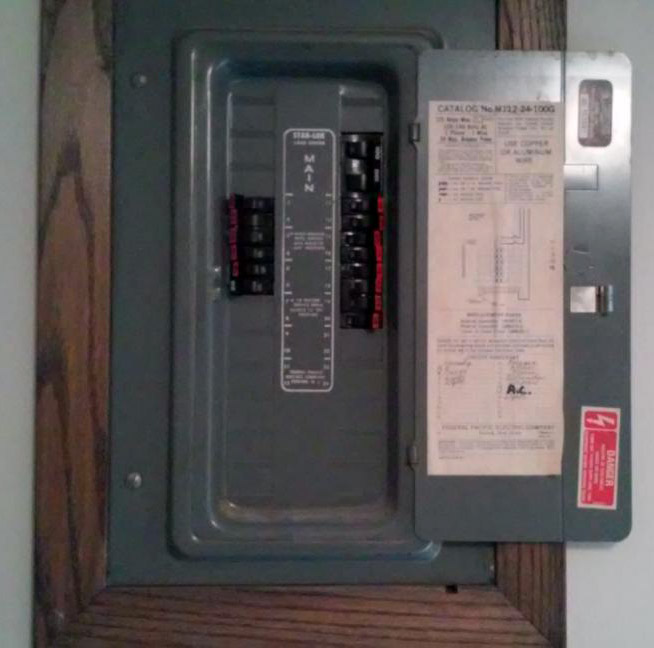 100 amp panel replacing an fpe panel in maple grove