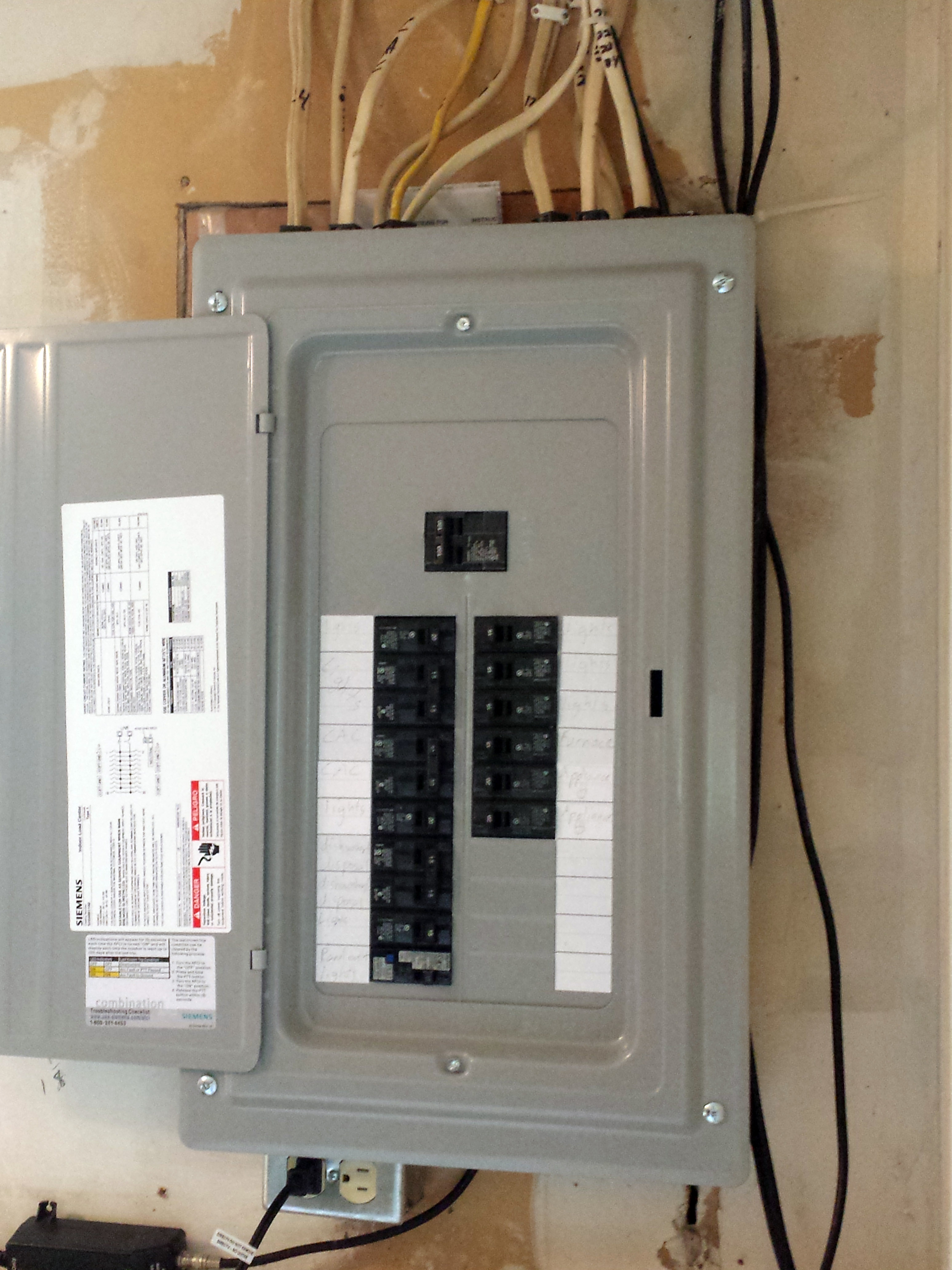 100 amp panel replacing an FPE in Coon Rapids